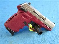 SCCY Model CPX-1 TTCR 9mm Pistol Crimson/Stainless **New**