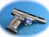 SMITH & WESSON MOEL 22S .22LR TARGET PISTOL **USED**