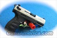 Walther P22 Semi Auto .22LR Pistol Nickel Slide **New**