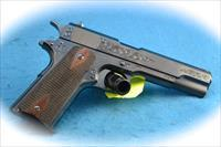 Turnbull Model 1911 C Coverage Engraving .45 ACP Pistol **New**