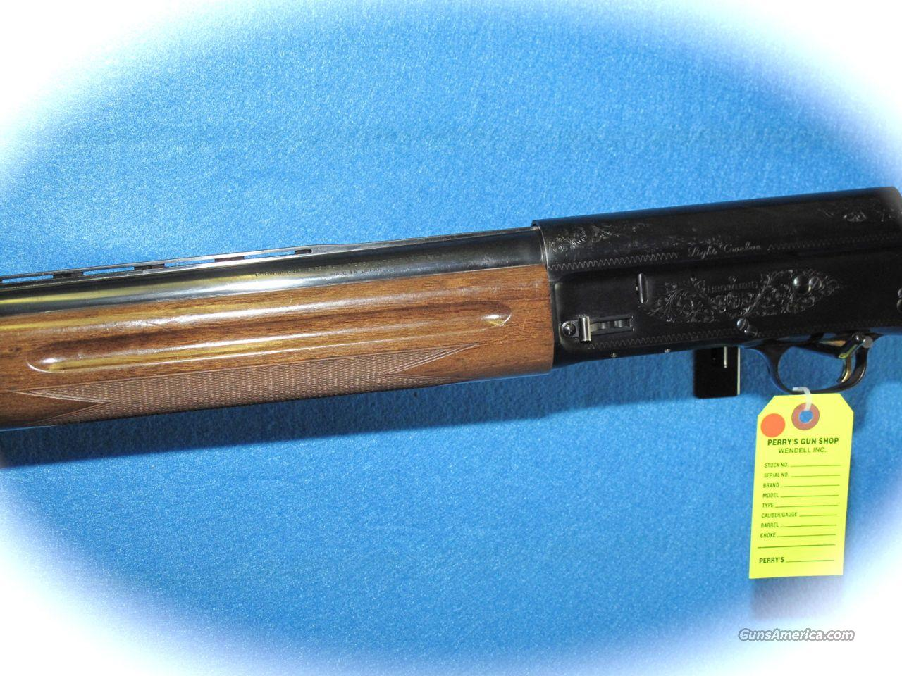 "Browning A-5 Light 12 Shotgun ""Made In Japan"" *... For Sale"
