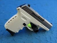SCCY Model CPX-2 TTWT White/Stainless 9mm Pistol **New**