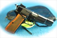 Browning Hi Power 9mm Semi Auto Pistol Belgian Made **Used**