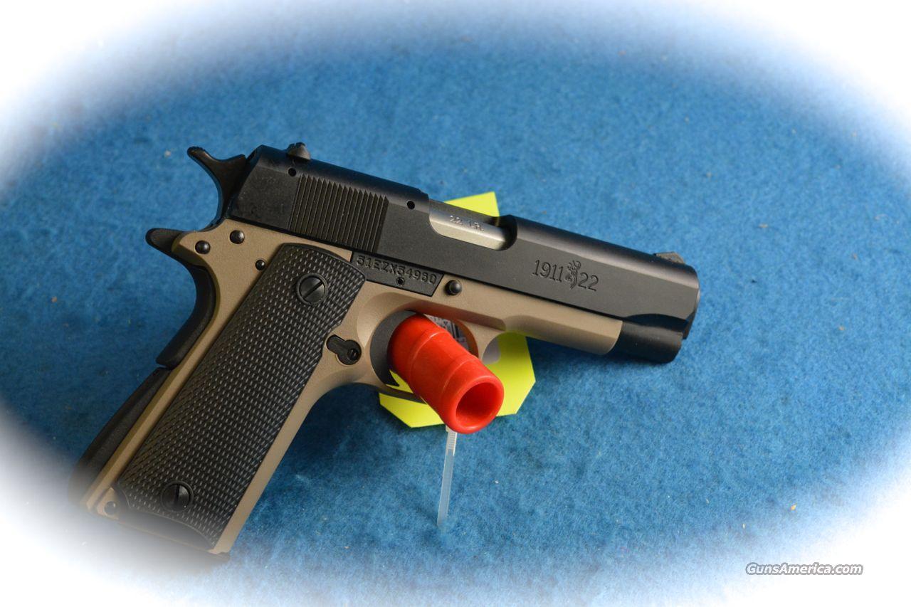 **SALE!!** Browning 1911-22 Compact Desert Tan  22LR Pistol **New**