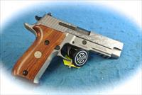 Sig Sauer P226 SS Engraved 9mm Pistol **New**