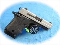 Sig Sauer P938 2-Tone 9mm Micro Compact Pistol **New**