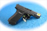 Glock 17 Gen 4 9mm Pistol W/Lasermax Guiderod Laser Green **New**