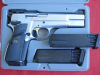 BROWNING HI-POWER, HARD-CHROME, 9MM, TARGET SIGHTS