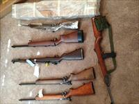LOT SALE  M1 Garand, Carbines, M44's , 9MM pistol + approx 20K rounds of assorted .cal ammo