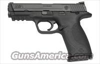 S&W M&P 9  w/ safety, black SS/polymer