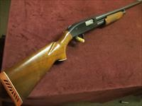 VINTAGE MOSSBERG 500 12GA. - 30-INCH FULL - WALNUT STOCKS - ENGRAVED BOLT