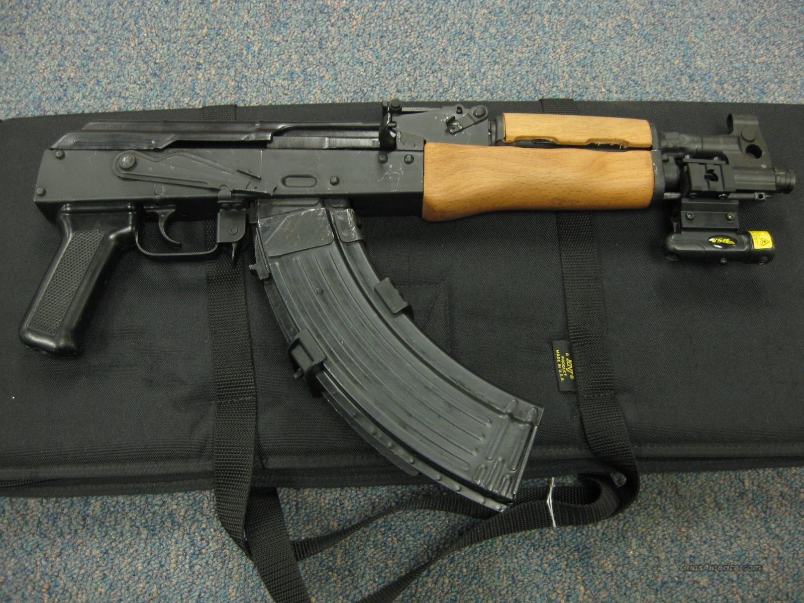 DRACO AK-47 PISTOL W/ LASER SIGHT & CASE