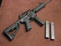 COLT AR-15 9MM CARBINE - AR6450 - MINT WITH THREE 32-ROUND MAGS
