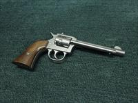 HARRINGTON & RICHARDSON (H&R) MODEL 950 .22 - 9-SHOT REVOLVER - NICKEL - 5 1/2-INCH - EXCELLENT