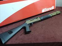 BENELLI M4 TACTICAL 12GA. - FACTORY FDE CERAKOTE - AS NEW IN BOX - APPEARS UNFIRED