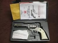 RUGER NEW VAQUERO BISLEY MODEL .45LC - 5 1/2-INCH - HIGH GLOSS STAINLESS - NEAR MINT IN BOX