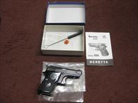 BERETTA 950 BS .25ACP - BLUE FINISH - EXCELLENT IN BOX