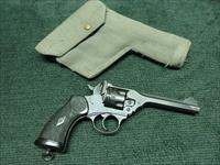 WEBELY MARK IV .38 S&W - WWII  VINTAGE - 5-INCH - WAR FINISH - NO IMPORT MARKS - EXCELLENT