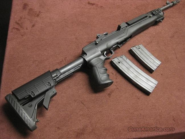 RUGER MINI-14  223 TACTICAL RANCH RIFLE - FOLDING STOCK - 2 MAGS - EXCELLENT