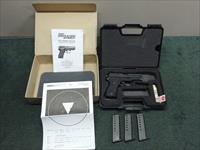 SIG SAUER P225 9MM - GERMAN TRIPLE S/N - BOXED - COLLECTORS ! - 1 of 1000 - MADE 2009 - TEST TARGET