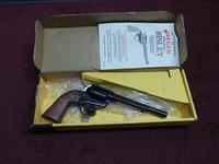 VINTAGE RUGER SINGLE-SIX BISLEY - .32 H&R MAGNUM - 6 1/2-INCH - MADE IN 1986 - NEW IN BOX