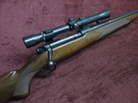 WINCHESTER MODEL 70 - PRE-64 - .22 HORNET - MADE IN 1948 - WITH VINTAGE SCOPE & MOUNTS