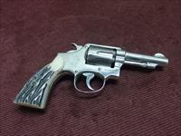 SMITH & WESSON VICTORY MODEL REVOLVER .38 S&W - 3 1/2-IN. - NICKEL