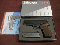 SIG SAUER P220 .45ACP - WEST GERMAN - FACTORY K-KOTE - WALNUT GRIPS - 3 MAGS - AS NEW IN BOX