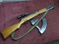 CHINESE SKS 7.62X39 - WITH ORIGINAL & HIGH CAPACITY MAG - SCOPED - SLING - EXCELLENT