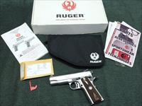RUGER SR1911 .45ACP COMMANDER-STYLE - MADE IN 2014 - EXCELLENT WITH BOX & PAPERS