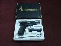 BROWNING HI-POWER .30 LUGER (7.65MM) - RARE - MADE IN BELGIUM - AS NEW IN BOX