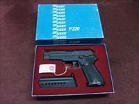 SIG SAUER P220 - 30 LUGER (7.65MM PARA) - WEST GERMAN - MADE IN 1982 - NEW IN BOX