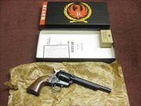 RUGER SINGLE-SIX .22 W.M.R. - OLD MODEL - 3-SCREW - 6 1/2-INCH - MINT IN BOX WITH .22LR CYLINDER