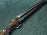 CHRISTOPHER FUNK - PRE-WAR GERMAN - 16GA. SXS - 29 1/2-INCH - NICELY ENGRAVED - WEIGHS 5 LBS 15OU. - EXCELLENT