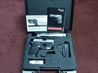 SIG SAUER P238 .380 - 2-TONE- WITH LASER - AS NEW IN BOX