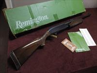 REMINGTON 870 WINGMASTER 12GA. - LEFT HAND - 20-INCH BRUSHMASTER - DELUXE DEER - WITH BOX