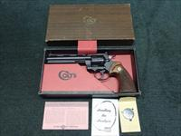 COLT PYTHON .357 MAGNUM - 6-INCH - MADE IN 1968 - AS NEW IN BOX