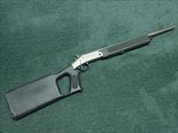 NEF - H&R - HANDI RIFLE - SURVIVOR - .45 COLT / .410GA. - ELECTORLESS NICKEL FINISH - 20-INCH - EXCELLENT