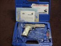 SPRINGFIELD 1911 A1 .38 SUPER - FACTORY BRIGHT NICKEL - MINT IN BOX