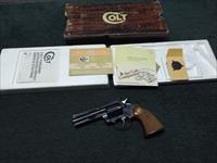 COLT DIAMONDBACK .22LR - 4-INCH - 1978 - WITH BOX & PAPERS