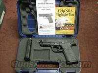 SMITH & WESSON M&P 9MM - CUSTOM - THREADED BARREL - TRIGGER KIT - NIGHT SIGHTS -