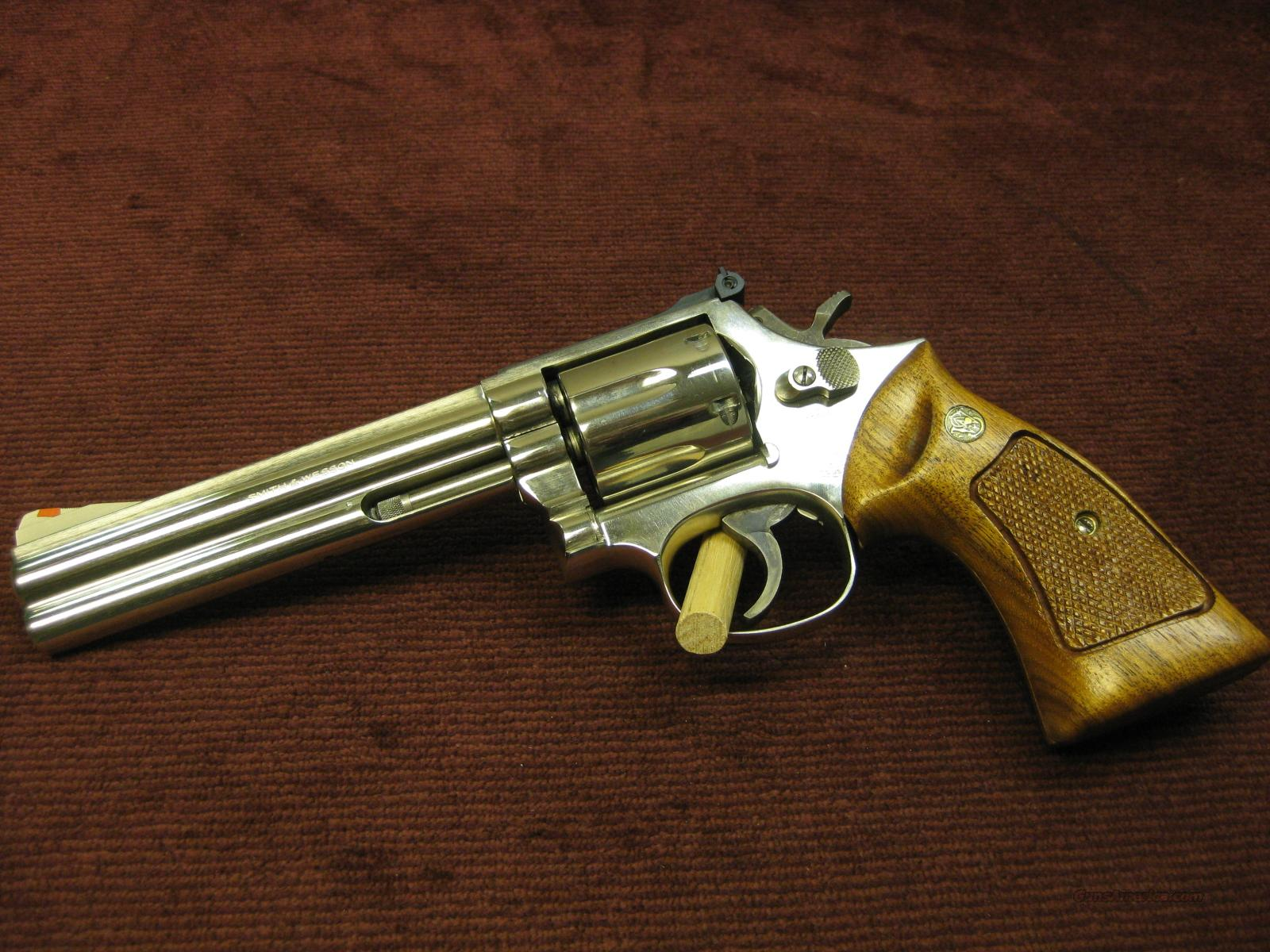 SMITH WESSON 586 357MAGNUM