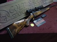 COLT SAUER SPORTING RIFLE - 30-06 - WEST GERMAN - BEAUTIFUL WOOD - LEUPOLD SCOPE - COLLECTOR CONDITION - WITH ORIGINAL BOX !