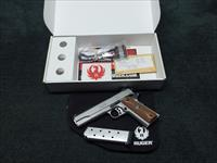 RUGER SR1911 .45ACP - 5-INCH - MINT IN BOX WITH TWO MAGS