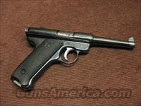 RUGER .22 AUTO STANDARD MODEL - 4 3/4-INCH - MADE IN 1953