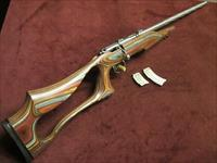 SAVAGE MARK II  BSEV  .22LR - STAINLESS - FLUTED BARREL - LAMINATED STOCK - MINT