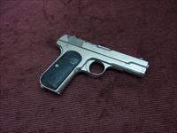 COLT 1908 .380 - NICKEL - MADE IN 1923 - EXCELLENT