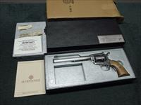 INTERARMS VIRGINIAN DRAGOON .44 MAG. - 8 3/8-INCH - STAINLESS - MADE IN USA - AS NEW IN BOX WITH PAPERS