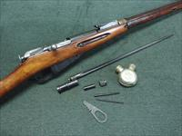 MOSIN NAGANT M91/30 - RUSSIAN TULA - 7.62X54R - WWII - 1939 - MATHCHING NUMBERS - BAYONET & CLEANING TOOLS - JUST UNBOXED