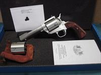 "Freedom Arms Model 83 Premier  DUAL cylinder .454 Casull/.45LC. 4 3/4"" Round butt NIB"